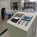 Máquina de rellenar líquida de la gravedad anticorrosiva automática para el desinfectante fuerte 84