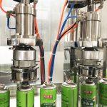 Máquina de llenado de latas de aerosol para cartuchos de gas butano