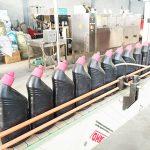 Máquina automática de llenado de líquidos para limpiadores de inodoros anticorrosivos