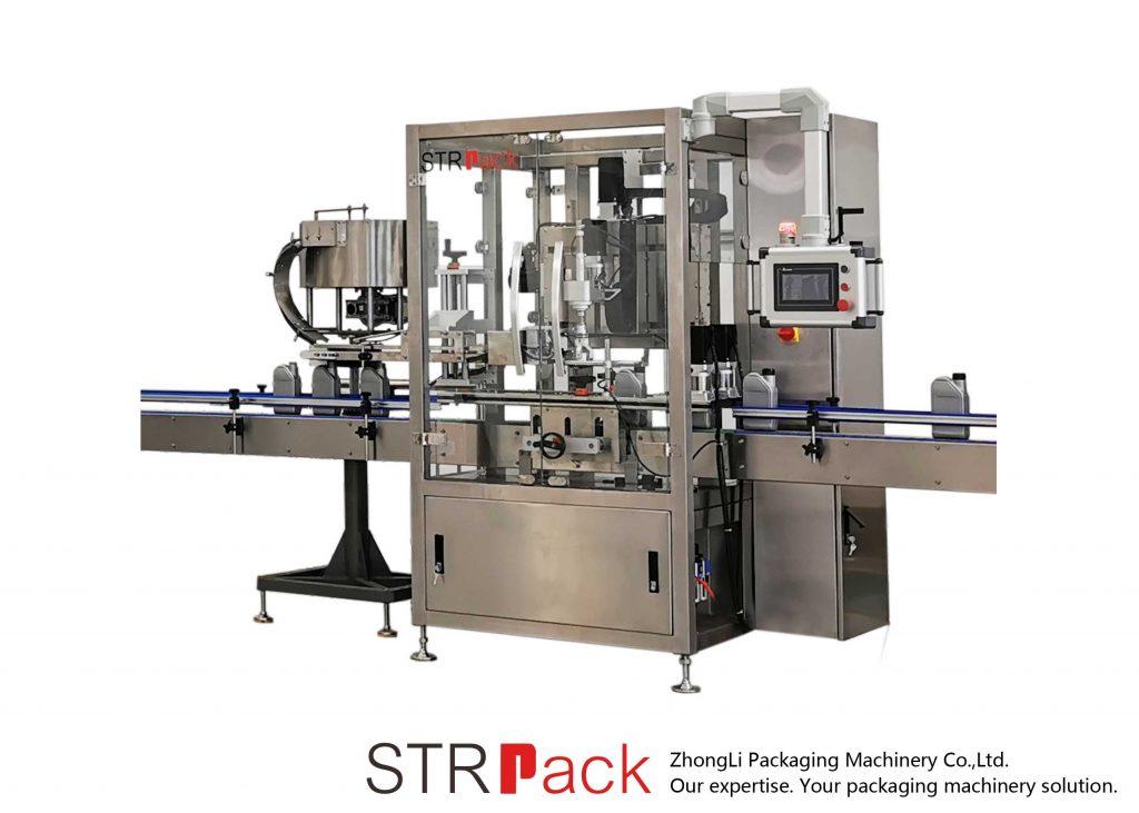 Máquina automática de tapado continuo