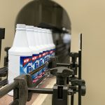 Máquina automática de llenado de líquidos desinfectantes