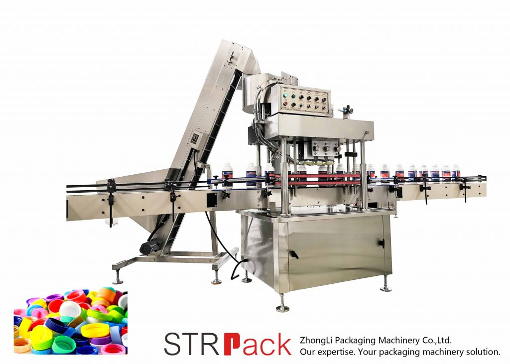 Máquina automática de tapado lineal