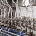 Máquinas de llenado de líquidos para sistemas de línea de llenado de botellas