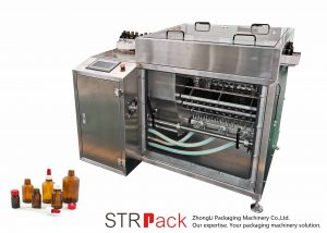 Máquina de enjuague de botellas