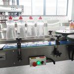 Línea de envasado de botellas de la máquina de llenado de líquidos de limpieza