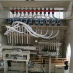 Línea de llenado de líquidos corrosivos, línea de llenado de líquidos harpicos, máquina de llenado de limpiadores de inodoros