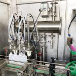 Máquina de llenado de botellas de líquido de pegamento a prueba de explosiones Máquina de tapado Máquina de etiquetado