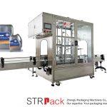 Máquina automática de llenado de medidores de flujo