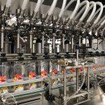 Máquina de llenado de jabón líquido y máquina para taponar botellas