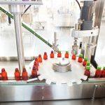 Línea de envasado automática de la máquina de tapado de la máquina de llenado de vitaminas líquidas