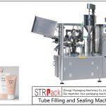 Máquina de llenado y sellado de tubos de plástico SFS-100