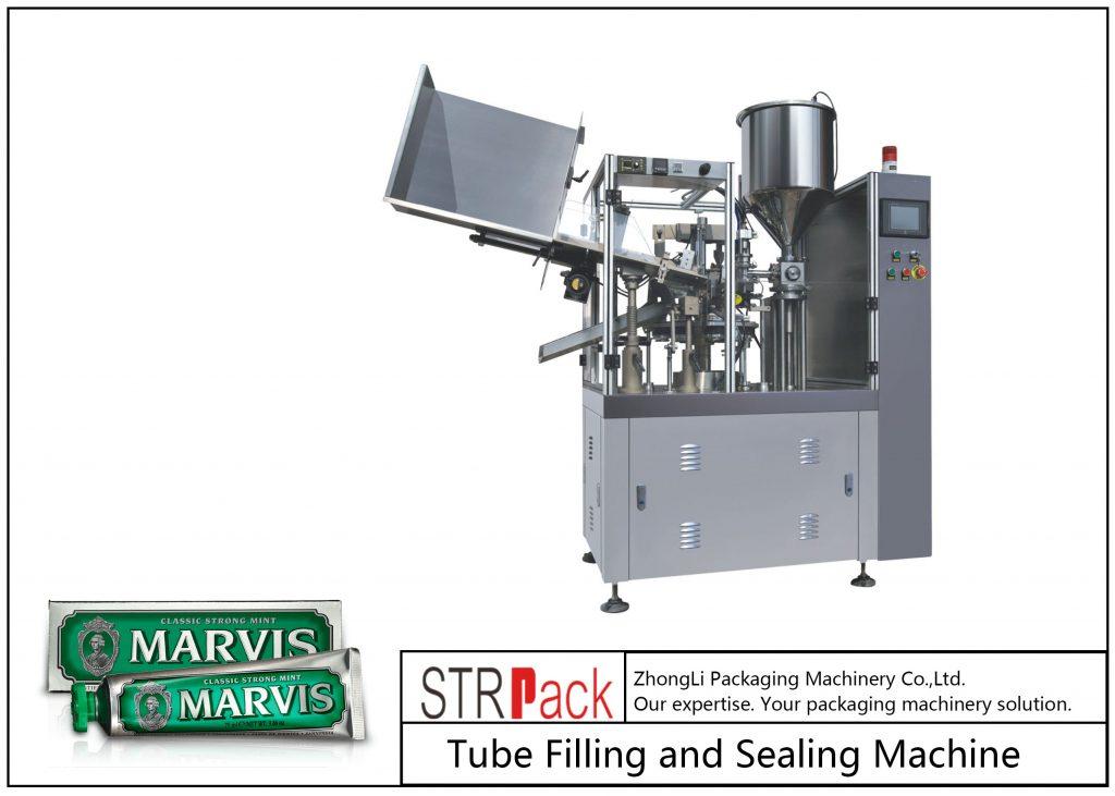 Máquina de llenado y sellado de tubos de plástico SFS-60