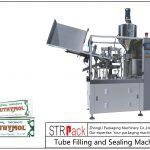 Máquina de llenado y sellado de tubos metálicos SFS-60Z